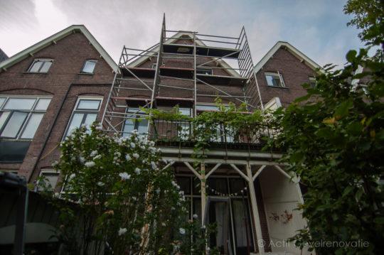 Achtergevel Rozenhof Dordrecht