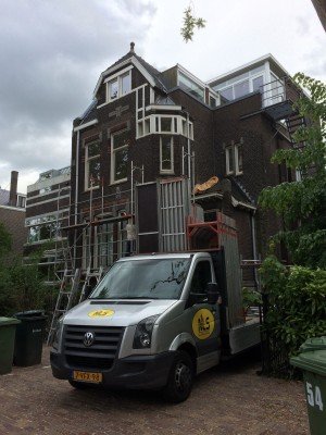 Gevelrenovatie Hoflaan Rotterdam oost