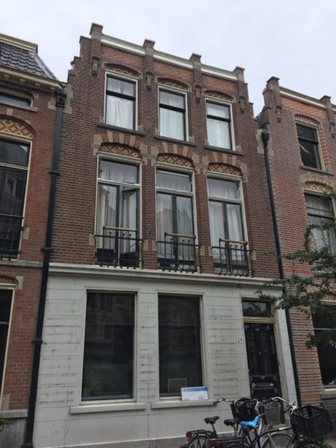 Gevelrenovatie Rozenhof 24 Dordrecht