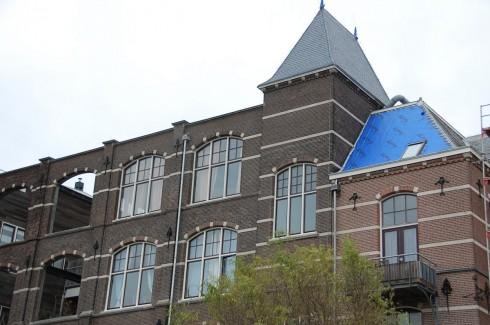 Gevelrenovatie Delft